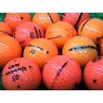訳あり 落書き テーラーメイド TAYLOR MADE オレンジ カラー 1個 中古 ゴルフボール ロストボール