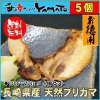 長崎県産 天然鰤のブリカマ  1カマ150〜200g×5個セット 鰤 ぶり かま