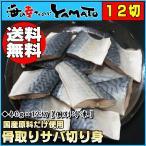 骨取りサバの切り身 40g×12切れ 個別冷凍 鯖 さば 魚 つまみ お手軽