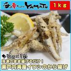 沙丁鱼 - 瀬戸内海産イワシの唐揚げ 1kg いわし イワシ カタクチイワシ 唐揚げ