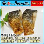 鱼 - さば塩焼き 20g ×10枚入り 国産鯖 ポイント 消化 冷凍食品 骨取り