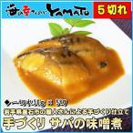 青花鱼 - サバの味噌煮 30g×5切 冷凍食品 簡単調理 さば 和食 弁当