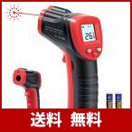 NN.ORANIE 赤外線温度計 非接触温度計 デシタル温度測定器 赤外線放射温度計 0.5秒高速検温 LCD表示 -50~+380℃ 4モード 単位