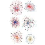 [MrsGrossmans] Stickers- Fireworks Reflections {Mg-20393}