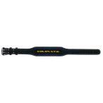 (トレーニングベルト)ゴールドジム ブラックレザー