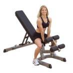 ショッピングフラット (動画参照)(フラットベンチ)Bodysolid ボディソリッド フラット インクライン ディクラインベンチDX  GFID71