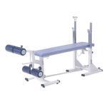 (ポイント5倍! 8/11〜8/16)(受注生産品)ベンチプレス セット)ダンノ 折畳み収納式コンパクトベンチDX D-534