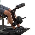 (ベンチプレス)Bodysolid ボディソリッド レッグエクステンション&カールアタッチメント(GFID-31用) LADー1