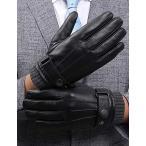 手袋 メンズ スマホ対応 裏起毛 本革 レザー手袋 スマホ スマートフォン対応 液晶タッチ 本革 ラム レザー 手袋 手ぶくろ 皮手袋 プレ