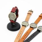 古董手表 - アンティーク風 レザーウォッチ アンティーク風 バングル風レザーウォッチ 腕時計 レディース アンティーク 本革ベルト レザー