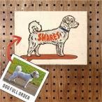 フルオーダー ドッグ-アート ウッドパネル【Sサイズ】 愛犬 DOG