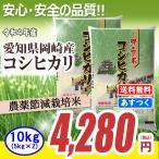新米 農薬節減米 愛知県産コシヒカリ10kg (5kg×2) 平成28年産 送料無料(一部地域除く)