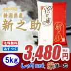 新潟県産 新之助 5kg 送料無料【北海道・沖縄・一部離島を除く】