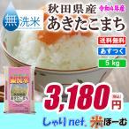 新米 無洗米 秋田県産あきたこまち 5kg 平成29年産 送料無料(一部地域除く)