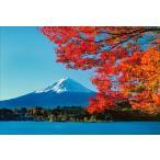 PT-102 湖畔の紅葉と富士/山梨県 - 河口湖