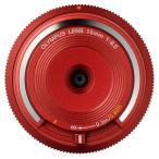 オリンパス BCL-1580 RED ボディキャップレンズ レッド
