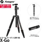 Fotopro X-GO トラベル カーボン三脚キット 5段 【送料無料】
