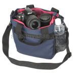 エツミ CO-8704 コールマン カメラトートバッグ ネイビー 【即納】