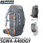 ハクバ SGWA-A40DGY GW-ADVANCE ALPINE40 カメラバックパック ダークグレー 【送料無料】