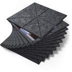 LINECY 防音シート 壁 床 吸音材 吸音ボード 密度 230kg/m3 高密度 防音材 フェルトボード 吸音シート 吸音パネル 吸