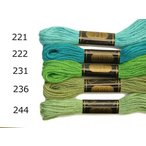50%OFF【アウトレット特価】オリムパス25番刺繍糸単色