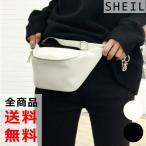 ボディバッグ ウエストポーチ レディース ウエストバッグ ショルダーバッグ 軽量 軽い 斜め掛け 鞄 かばん 黒 白 送料無料