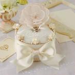 レースブーケのリングボックス手作りキット(シャンパンゴールド)リングピロー 結婚式 花嫁DIY