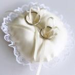 ラウンドのミニリングピロー(完成品)シャンパンゴールド 手作り結婚式 大人婚 花嫁diy 丸