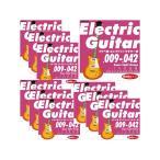 "Yahoo!渋谷イケベ楽器村Ikebe Original Electric Guitar Strings ""イケベ弦 エレキギター用 009-042"" [Super Light Gauge/IKB-EGS-0942]×10セット 【超お買い得セット販売】"