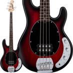 Sterling by MUSICMAN S.U.B. Series Ray4  Red Ruby Brust Satin