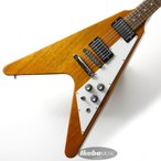 Gibson ギブソン フライングV Flying V Antique Natural 【Gibsonピックケースプレゼント】【ギブソン純正アクセサリーパック・プレゼント】