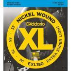D'Addario ダダリオ エレキベース弦 XL Nickel Round Wound EXL180