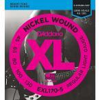 D'Addario ダダリオ エレキベース弦 XL Nickel Round Wound EXL170-5