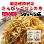 送料無料  きんぴらごぼうの素 90g×2袋セット にんじん&千切りごぼう 即席の炊き込みご飯にも エアドライ製法