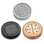 アルミ ヒュミドール 3色セット 携帯加湿器 手巻き パイプタバコの保湿用 シャグ メール便250円対応