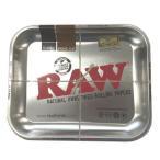 RAW ロー メタルトレー シルバー ラージサイズ シャグ 喫煙具 ロウ たばこトレイ メール便発送は出来ません