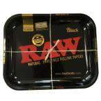RAW ロー メタルトレー ブラックゴールド ラージサイズ シャグ 喫煙具 ロウ たばこトレイ メール便発送は出来ません