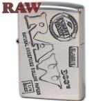 ジッポ RAW ロー オリジナル Zippo シルバー 喫煙具 ジッポーライター