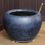 信楽焼  10号なまこ火鉢 和風 陶器 火鉢 インテリア おしゃれ 陶器  ひばち 手焙 手あぶり ひばち hi-0007