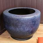 信楽焼20号特大なまこ火鉢!和風を演出する陶器火鉢です。陶器ひばち/手焙/手あぶり/信楽焼ひばち【hi-0018】