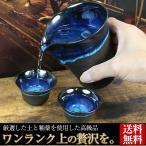 信楽焼 ワンランク上の贅沢が出来る酒器 酒器セット 片口 ぐい呑み 熱燗 陶器 ギフト 贈り物 高級品 おしゃれ 湖鏡 ko-syuki