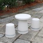 陶器テーブル 16号 信楽焼ガーデンテーブル お庭 ベランダ 庭園セット ガーデンテーブルセット 陶器 イス 信楽焼テーブル ガーデンセット やきもの 庭用 te-0061