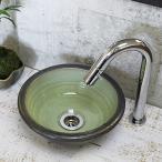 洗面ボウル おしゃれ 洗面ボール 陶器 和風 手水鉢 トイレ 手洗器 手洗い鉢 洗面台 tr-1080