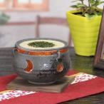 茶香炉!陶器茶香炉/しがらきやき茶香炉/茶こうろ/アロマポット/信楽焼/茶/インテリア/和風/陶器/黒砂流し茶香炉[ty-0012]