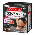 めぐりズム 蒸気でホットアイマスク FOR MEN 無香料 [12枚入]