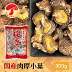 干ししいたけ 国産 (九州・四国産) 肉厚小葉300g 原木栽培