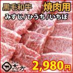 肩肉 - 黒毛和牛 みすじ ひうち いちぼ 500g ギフトに最適 焼肉 バーベキュー BBQ