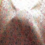 ショッピング和柄 高級金襴布(金襴・はぎれ)切売り販売 和柄 着物生地巾70cm×50cm・より50cm毎の販売 (招巴唐花)