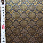 ショッピング和柄 高級金襴布(金襴・はぎれ)切売り販売 和柄 着物生地巾70cm×50cm・より50cm毎の販売 (招巴七宝)