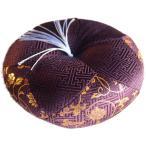 りん布団 国産 木魚用の リン 座布団 各サイズ 唸紫(9号丸型27cm, 唸紫)